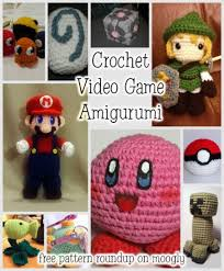 Amigurumi Patterns Video | 10 fantastic video game amigurumi crochet patterns for the gamer
