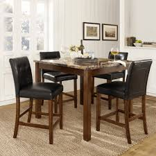 small dining rooms small dining room tables rectangle ivory fury rug black minimalist