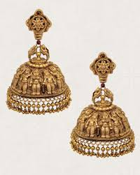 earrings in grt jewellers choice design awards mumbai india indian jewellery