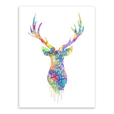 deer head home decor oh deer u2013 3 boots art