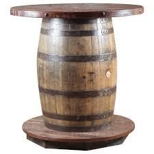 Barrel Bar Table Wildwoods Reclaimed Whiskey Barrel Reclaimed Whiskey Barrel Pub
