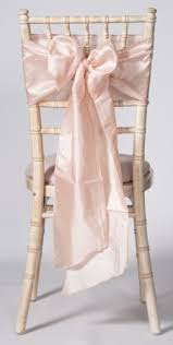 chair cover sashes blush pink taffeta wedding chair cover sashes event decor