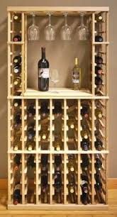 wall wine rack 8 bottle holder storage display complements any