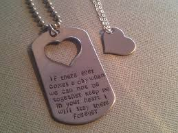 his and hers dog tags sted winnie the pooh quote his and dog tag set