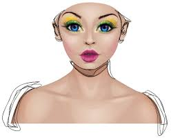 vector skin tone tutorial how to create a glamorous portrait using adobe illustrator noupe
