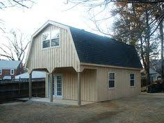 Gambrel Roof Pole Barn Plans Custom 2 Story Garage With Gambrel Roof Aframe Cabins