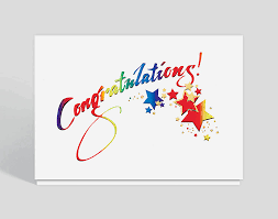 sparkling congratulations card 300041 business christmas cards