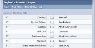 la liga premier league table results epl la liga nigeria news today your online nigerian