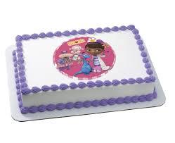 doc mcstuffins doc and friends edible image cake design cakes com
