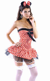 women costumes playful minnie mouse women costume