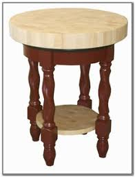 round butcher block island kitchen awesome round solid wood