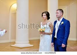 registering for wedding beauty handsome groom registering marriage stock photo