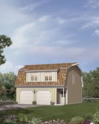 gambrel roof garages mother earth living 2 car garage apartment gambrel roof e plan 1