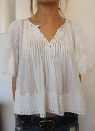 white flowy blouse shirt country flowy top clothes top blouse white vintage