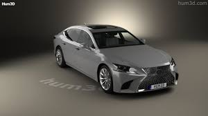 new lexus ls 2017 360 view of lexus ls 2017 3d model hum3d store