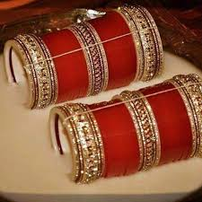 indian wedding chura bridal chura bridalchura instagram photos and