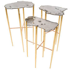 copper coffee and cocktail tables 120 for sale at 1stdibs