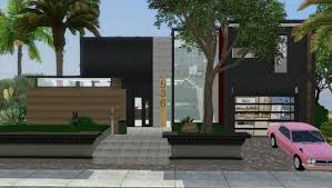 Home Design For The Sims 3 Sims 3 Modern Beach House Featuring Marcusssims91 Download