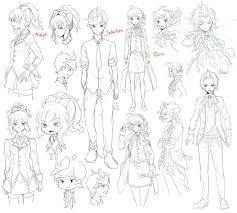 rt character sketches by draa on deviantart