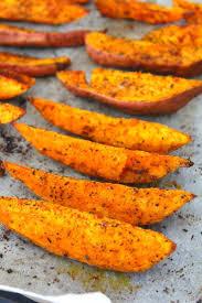Halloween Diy Ashley U0027s Potato Herb Roasted Sweet Potato Wedges