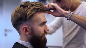 modern undercut hairstyle men u0027s hipster fashion big beard long