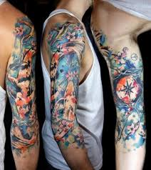 112 best watercolor tattoos for men cool designs and ideas