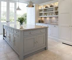 white kitchen island 20 gorgeous gray and white kitchens grey kitchen island gray