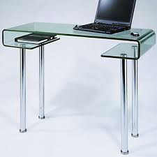 bureau ordinateur en verre bureau ordinateur en verre maison design hosnya com