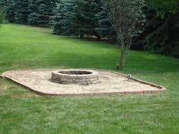 building fire pit in backyard triyae com u003d backyard fire pit area various design inspiration
