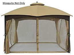 gazebo mosquito netting universal 10 x 12 gazebo replacement mosquito