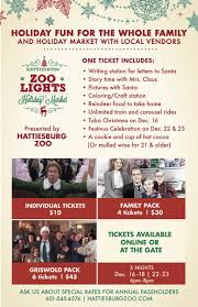 Zoo Lights Prices by Zoo Lights U0026 Holiday Market 2016