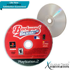 backyard baseball u002710 sony playstation 2 2009 ebay