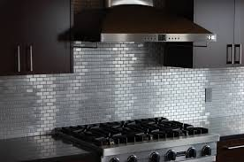 stainless backsplash