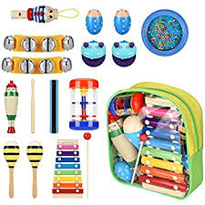 Musical Instruments Crafts For Kids - amazon com 16pcs giftedmusickids musical instruments for kids