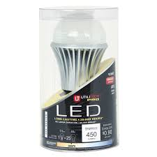 A19 Led Light Bulb by Shop Utilitech 40w Equivalent Dimmable Warm White A19 Led Light