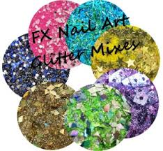fx nail art glitter mixes