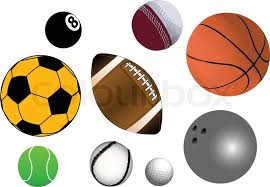 collection of various sports in vector format fully