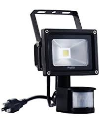 Flood Lights For Backyard by All Pro Ms100pg 110 Degree 100w Quartz Halogen Motion Activated