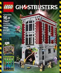 Lego Headquarters Amazon Com Lego Ghostbusters 75827 Firehouse Headquarters