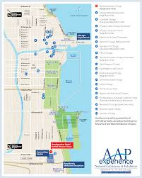 Blue Line Chicago Map by Hotel Info U0026 Reservations U2013 American Academy Of Pediatrics