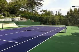 Backyard Tennis Court Cost Triyae Com U003d Build Tennis Court In Backyard Various Design