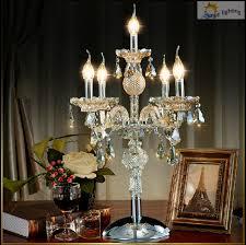 Candelabra Light Fixtures 5 Lights Bar Kitchen Candelabra Antique Glass Table Lamp With