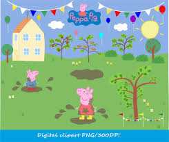 peppa pig house clipart clipartxtras