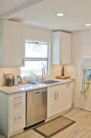 Small Kitchen With White Cabinets Kitchen Small White Kitchens With Cabinets Narrow Black And 5531