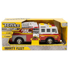 tonka fire truck toy tonka mighty fleet vehicle assortment u003e online toys australia