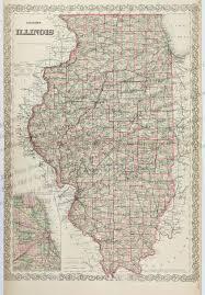 Cook County Il Map Prints Old U0026 Rare Illinois Antique Maps U0026 Prints