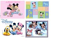 home decor baby mickey mouse and gang wall decals
