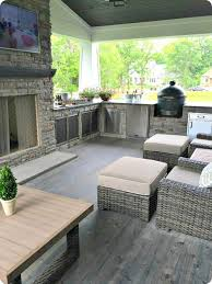 Patio 26 Outdoor Kitchens Decor Best 25 Covered Outdoor Kitchens Ideas On Pinterest Covered