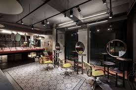 small hair salon floor plans renovation of split level hair salon u0026 residential hao design