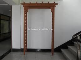 real wood flower stand classic trellis wooden garden arbor buy